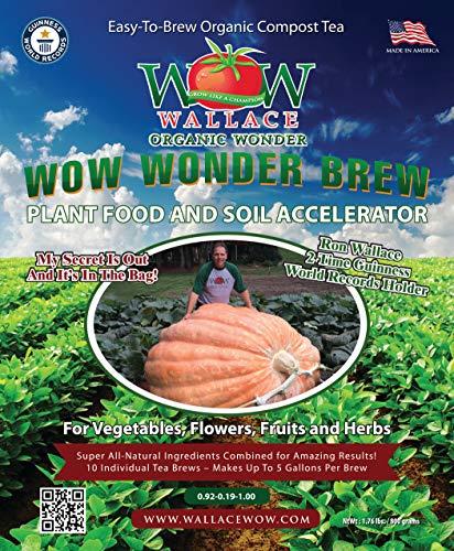 Wallace Organic Wonder, Wonder Brew Compost Tea
