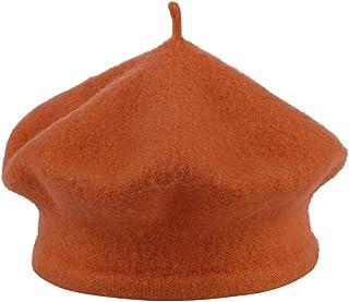 (ラボーグ)La Vogue ベレー帽 ウールベレー帽子 キャップ帽子 子ども キッズベビー赤ちゃん帽子 男女兼用 0-7歳幼児幼稚園 お出かけ
