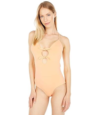 Quintsoul Swimwear Lace-Up Bow One-Piece