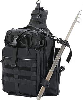 Tikaton Large Fishing Backpack with Rod Holder Fishing...