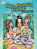 Little Mermaid Friends Coloring Book (Dover Coloring Books)
