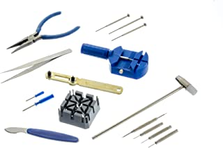 SE 16-Piece Watch Repair Tool Kit – JT6221