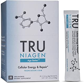 Nicotinamide Riboside NR | Stick Packs 300mg | Advanced NAD+ Booster | Increases Energy & Promotes Anti Aging | 30 Packets | TRU NIAGEN