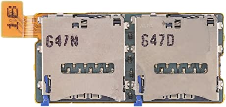 SHIYUAN Fine workmanship Dual SIM Card Socket Flex Cable for Sony Xperia T2 Ultra