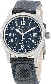 Khaki Field Blue Dial Nylon Strap Men's Watch H68201943
