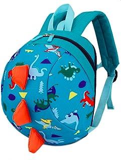 Toddler Kids Backpack Rucksack with Reins for Boys/Girl, Dinosaur Rucksack Toddler, Cartoon Safety Anti-Lost Strap Rucksack Kids Bag 27 * 19 * 11cm / 10.62 * 7.28 * 4.33inch