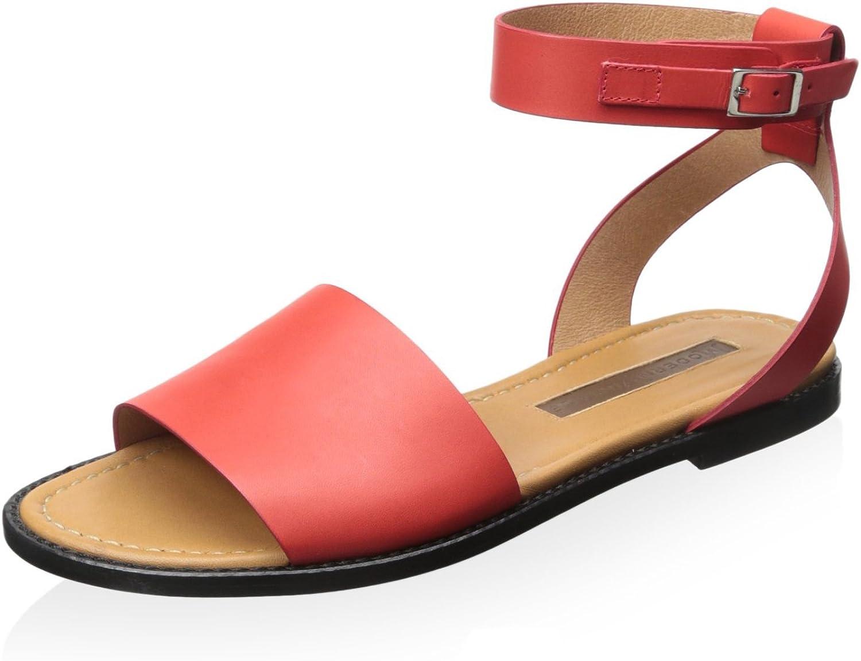 Modern Vintage Women's Rita Flat Sandal Red
