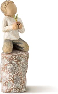 Willow Tree Something Special Boy Kneeling with Plant Figurine 27269 New