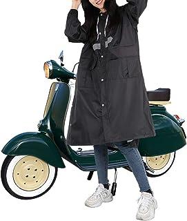 AWNIC レインコート レディース おしゃれ ロング レインポンチョ 自転車 かっぱ 雨 魔法 雨合羽 可愛い 通勤通学 リュック 軽量 撥水 夏 レインウェア 雨着 男女兼用 収納袋付き
