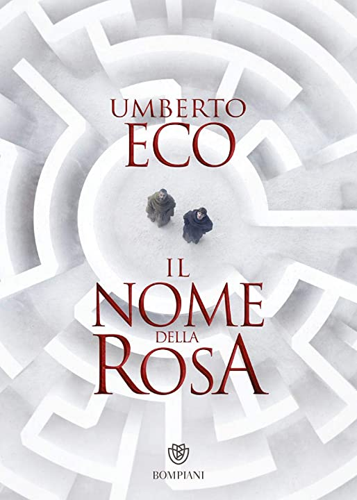 Libri di umberto eco - il nome della rosa (italiano) 978-8845296833