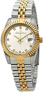 Mathey-Tissot Rolly III Crystal Silver Dial Ladies Watch D810BI