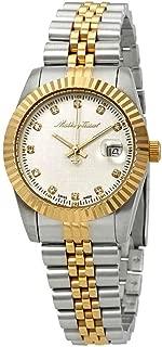 Mathey-Tissot Rolly III Crystal Silver Dial Ladies Watch D810BI