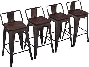 Amazon Com 26 Inch Counter Height Dining Bar Stool