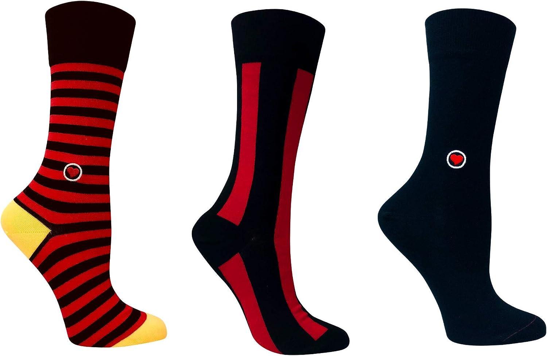Valentines Day Gift Box - Organic Cotton Women's Crew Socks - Love Sock Company - WBOX2