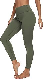 VIISHOW Women's High Waisted Yoga Leggings for Women Inside Pockets Tummy Control Yoga Pants Workout Pants