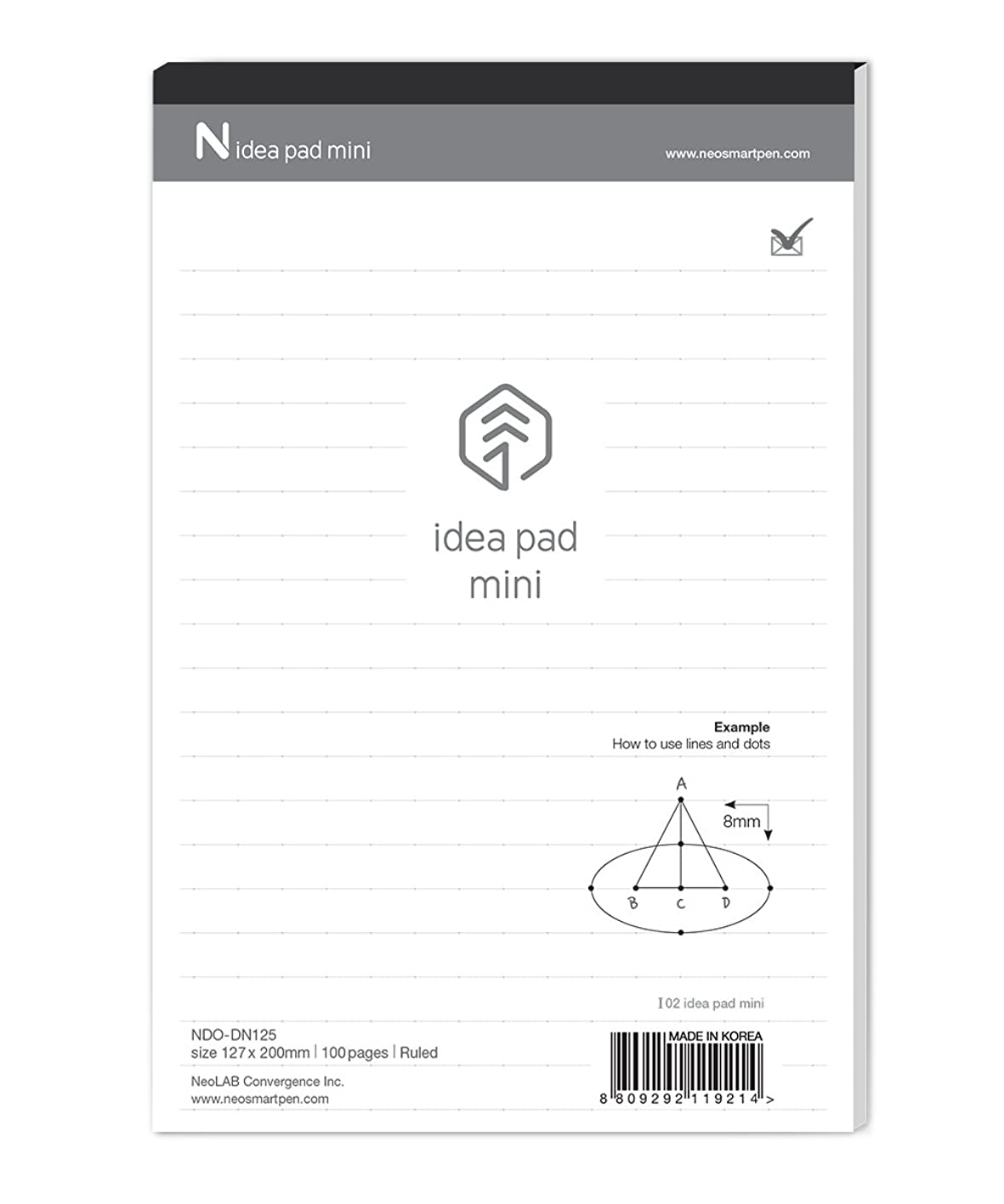 を除くソブリケット起訴するN Idea Pad Mini (5パッド) for Neo smartpen n2
