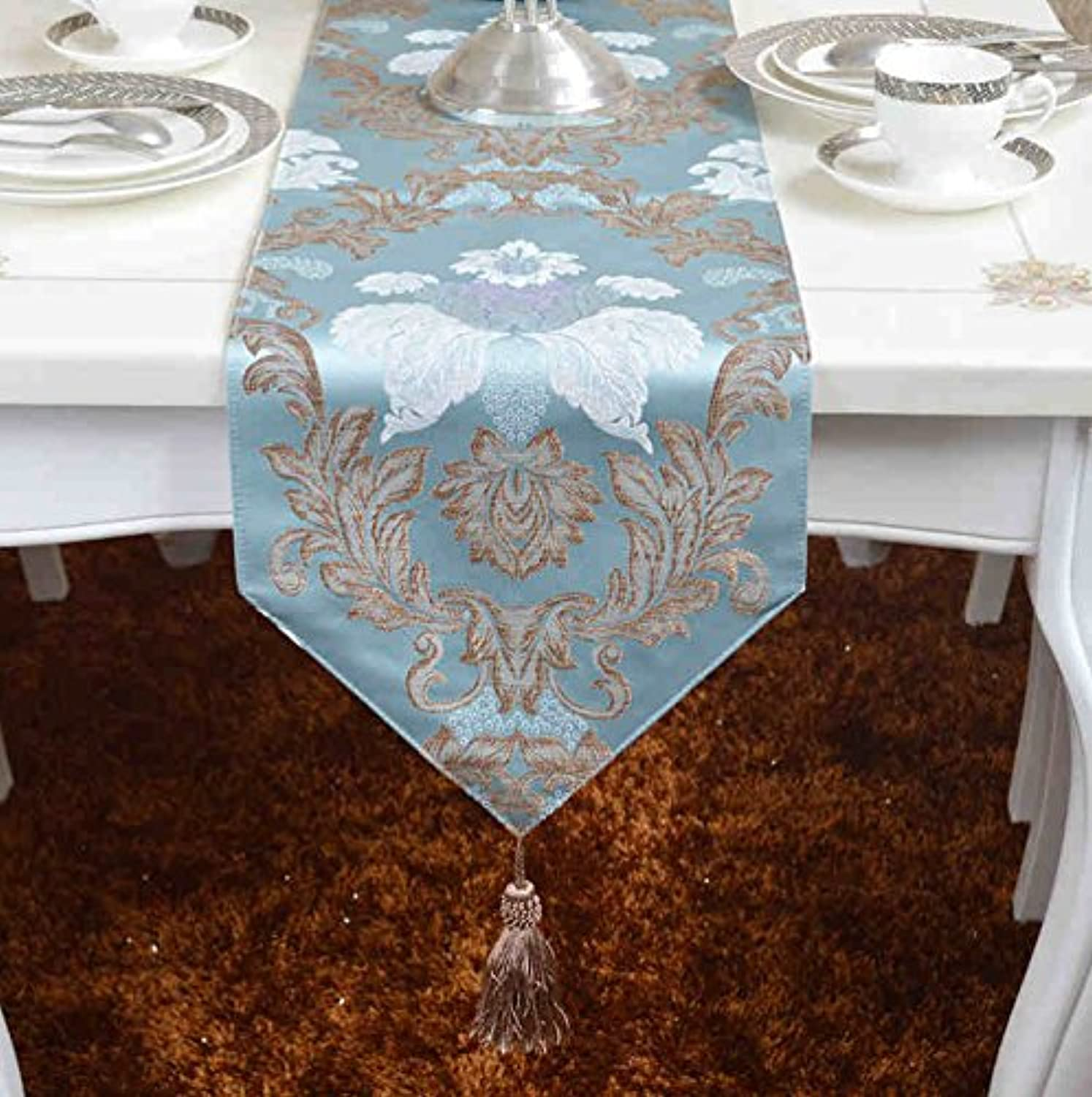 YOTA HOME Table Runners Continental luxury minimalist modern TV cabinet table cloth covered tables flag (Size   30  200cm)