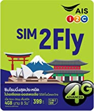 AIS 8Day/4GB Data Roaming-Singapore,Korea,Malaysia,India,Burma,Cambodia,Philippines,Laos,Taiwan,HK,Maccu,Japan,