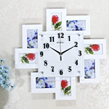 Watches And Clocks Personalized Clock Picture Frame Creative Living Room Hanging Table Bedroom Rural Art Mute Creative Fas...
