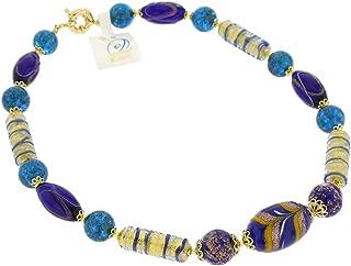 GlassOfVenice Murano Glass Necklace Laguna