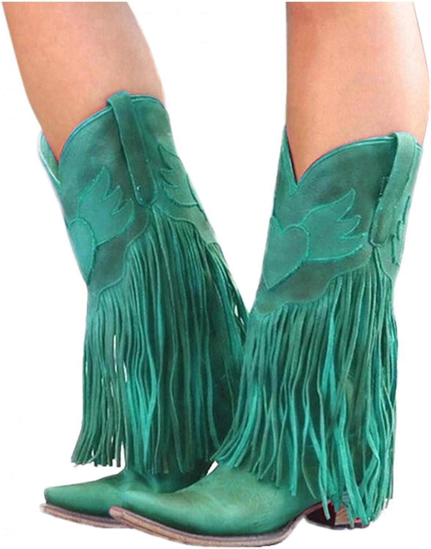 no tax Women Comfortable Round Toe Chunky Block Heels