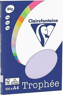 Clairefontaine TrophéeLot de 100Mini Feuilles de Papier A4, 21x 29,7cm