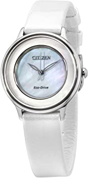 Citizen Circle of Time Eco-Drive Movement MOP Dial Women's Watch