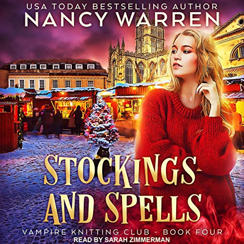 Stockings and Spells audiobook cover art