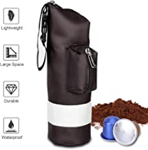STARESSO Portable Espresso Maker Carry Bag - Compatible with Travel Business Trip & Outdoor Activity Lightweight Waterproof Protective Zipper Punch for Manual Coffee Maker & Capsule