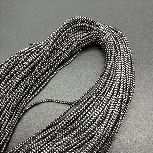 LLAAIT 10Yards 2mm gouden draad touw vintage rustieke bruiloft decoratie partij geschenkdoos decor voor ambachtelijke benodigdheden DIY sieraden maken 18