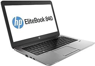 HP 840 G1 - Ordenador portátil 14in (Intel i5-4200U, 8GB RAM, 240GB SSD, Windows 10 Profesional), Negro - Teclado QWERTY (...