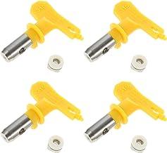 Angoily 4 stks Spray Tips Airless Verf Sproeier Nozzle Machine Onderdelen voor Huizen Gebouwen Decks Hekken Tuin Power Too...