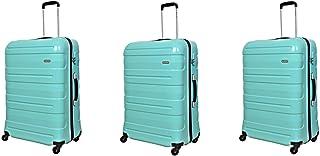 Magellan Trolly Luggage Set 3 PCs, TD192-3P-GREEN