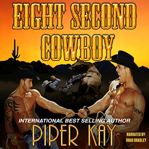 Eight Second Cowboy audiobook cover art