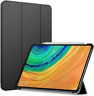 HUAWEI MatePad Pro 10.8 ケース TopACE 超薄型 スマートケース スタンド機能付き 高級PU レザーケース HUAWEI MatePad Pro 10.8インチ 対応 (ブラック)