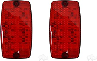 RHOX Golf Cart LED Tail Light Assembly Pair of 2