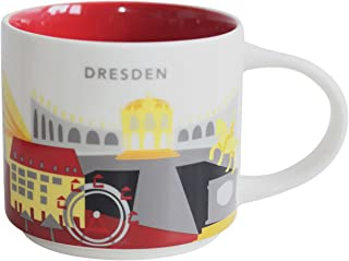 Starbucks Dresden Germany Mug Cup You Are Here Series 14oz