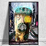 manbgt Straße Graffiti Kunst Starbucks Kaffee Bilder