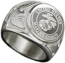 marine corps engagement rings