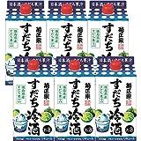 菊正宗 すだち冷酒 [ リキュール 900mlx6本 ]