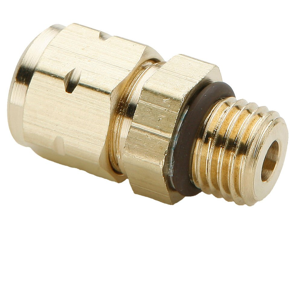 Compression Union Pack of 20 Pack of 20 5//16 Brass Parker 62VL-5-pk20 Vibra Lok Compression Style Fitting 5//16 Tube to Tube