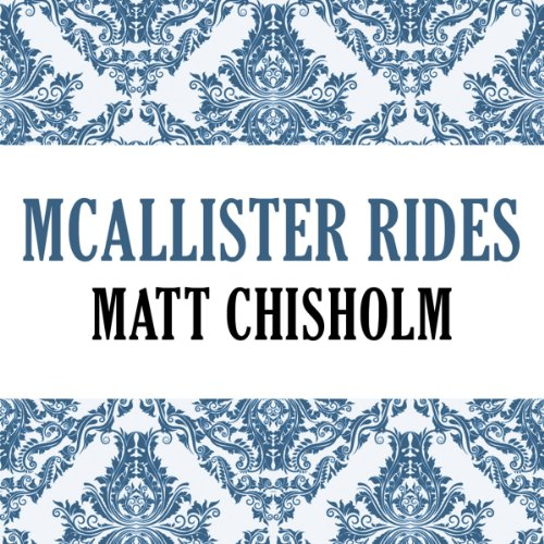 McAllister Rides audiobook cover art
