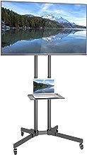 """1home Soporte de TV móvil Exhibición de la exposición del Soporte del Carro de la Carretilla para 32""""-65"""" Plasma/LCD/LED"""