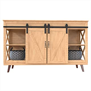 wooden roller shutter cabinet