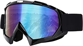 LJDJ Ski Snowboard Goggles - Motorcycle Goggles Winter Snow Outdoor Sports Snowmobile Skating Skiing Tactical Protective Glasses Dirt Bike ATV Motocross Dust-Proof Eyewear for Combat Military Cycling