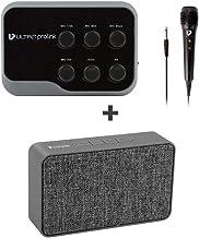 UltraProlink UM1002 Sing Along Karaoke Bluetooth Mixer with Karaoke Mic & Bluetooth Receiver with Echo for Mobile Phones +...