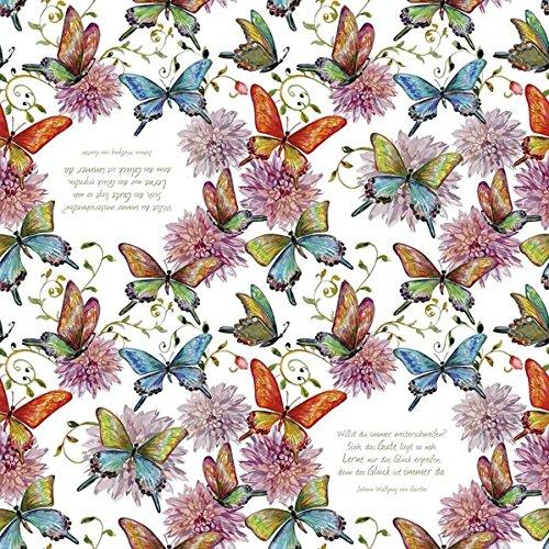 Servietten »Schmetterlinge«