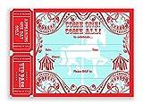 POP parties Carousel Large Invitations AR - Carnival Invitations - Circus Invitations - 10 Invitations 10 Envelopes