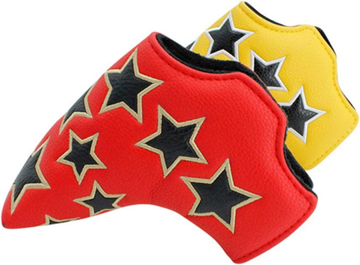 YADSHENG Now on sale Golf Putter Headcovers Omaha Mall PU Club Cover