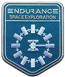 Titan One Europe Interstellar Endurance Blue Patch Iron On Parche Termoadhesivo